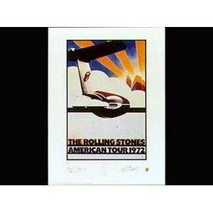 Rolling Stones American Tour 72 Foot    Print