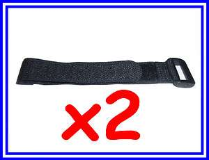 Pcs x 200mm Velcro Battery Strap Reusable Cable Tie Wrap