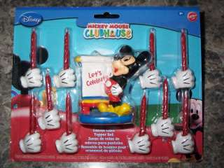 Mickey Mouse Clubhouse Birthday Candle Cake Decoration