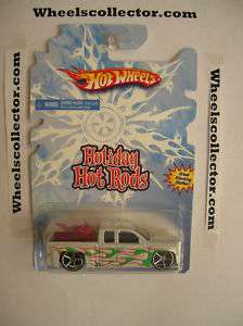 2008 HW CHEVY SILVERADO * Holiday Hot Rods * RARE *