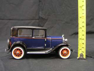 1930 Ford Model A Tudor Franklin Mint 124 Scale
