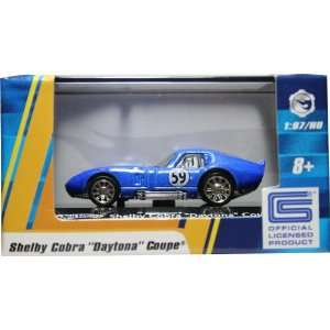 87 / HO SCALE SHELBY COBRA DAYTONA COUPE (BLUE) Hot Wheels Vehicle