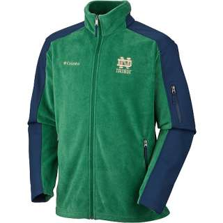 Notre Dame Fighting Irish Mens Outerwear Columbia Notre Dame Fighting