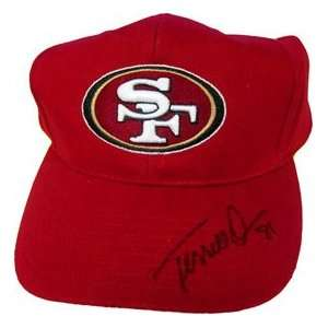 Terrell Owens Autographed San Francisco 49ers Hat Sports