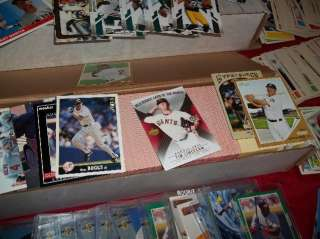 Mix Sports Card Collection   Storage Unit   Vintage Baseball Football