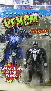 MARVEL SUPER HEROES VENOM ACTION FIGURE LIVING SKIN