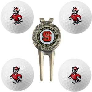 NCAA North Carolina State Wolfpack Golf Gift Set  Sports
