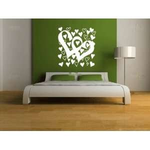 Hearts Large Vinyl Wall Decal Sticker Graphic By LKS