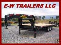 2012 3 AXLE GOOSENECK EQUIPMENT TRAILER 20 PLUS 5 HD