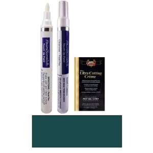 1/2 Oz. Dark Satin Green Metallic Paint Pen Kit for 1999