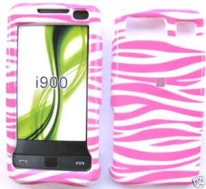 BUY PINK STRIPE HARD CASE COVER SAMSUNG OMNIA I910 ****