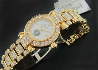 LADY CHOPARD IMPERIALE YELLOW GOLD DIAMOND WATCH