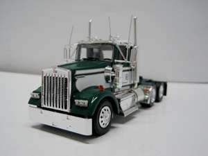 TONKIN KENWORTH TANDEM AXLE GREEN/WHITE DAY CAB 1/53 G1