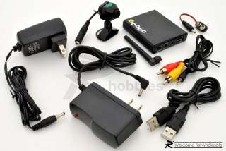 2.4Ghz RC Wireless Color USB Surveillance Spy Camera