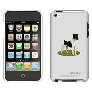 Smooth Fox Terrier on iPod Touch 4 Gumdrop Air Shell Case Electronics