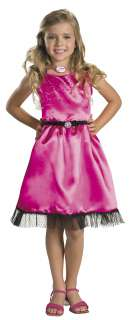Girls Sharpays Pink Dress Costume   Girls Costume