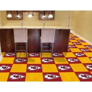 Kansas City Chiefs NFL Team Logo Carpet Tiles