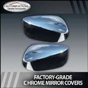 2007 2012 Honda Accord 4 door Chrome Mirror Covers Automotive