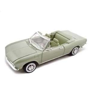 1969 Chevrolet Corvair Diecast Model Green 118 Toys & Games