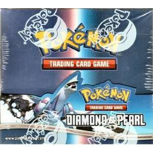Pokemon Trading Card Game DP Diamond & Pearl Booster Box Toys & Games