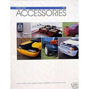 1993 Ford Cars accessories brochure