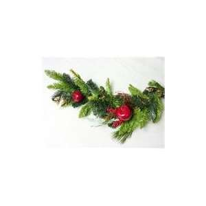 Apple Berry Pine Artificial Christmas Garlands with Pi