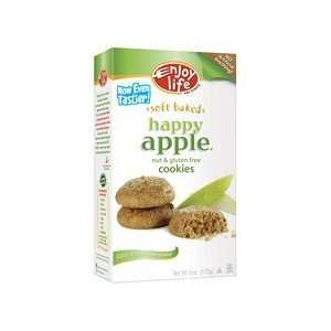 Enjoy Life Happy Apple Cookie Gluten Free ( 6x6 Oz Baby