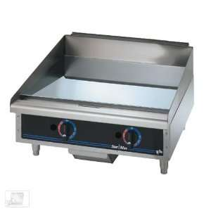 Star 624TCHSD 24 Chrome Max Gas Griddle