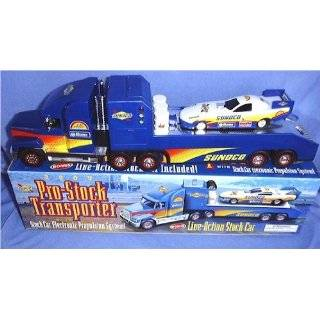 Sunoco NASCAR Race Car Hauler  Toys & Games