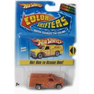 Hot Wheels Color Shifters Rescue Ranger Car Toys & Games