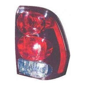 02 05 CHEVY CHEVROLET TRAILBLAZER EXT TAIL LIGHT RH (PASSENGER SIDE