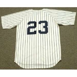 York Yankees 1985 Majestic Cooperstown Throwback Home Baseball Jersey