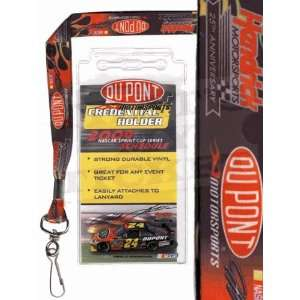 Jeff Gordon NASCAR Lanyard with Ticket Holder Sports