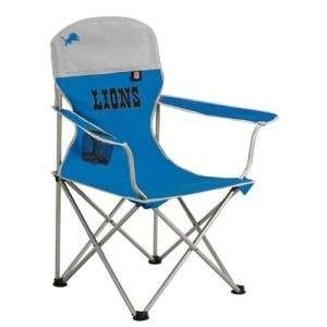 Detroit Lions NFL Deluxe Folding Arm Chair