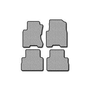 Nissan Rogue Simplex Carpeted Custom Fit Floor Mats   4 PC Set   Black
