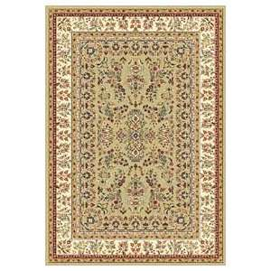 Safavieh Lyndhurst LNH331C Sage and Ivory Traditional 5 x 5 Area Rug