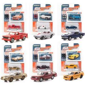 Gl Muscle Series #3 164 Diecast Cars Mixed Case Of 12 By