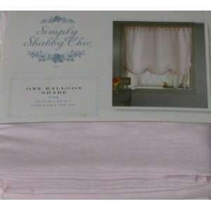Simply Shabby Chic Pale Pink Balloon Shade Window Curtain 63