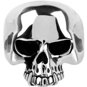 Size 13   Inox Jewelry 316L Stainless Steel Skull Ring Jewelry