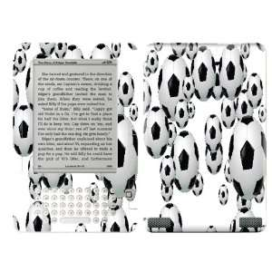 Soccer Balls Design Decal Protective Skin Sticker for  Kindle 2