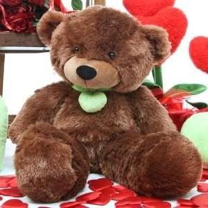 Baby L. Cuddles   26   Soft Dark Caramel Valentines Day Teddy Bear