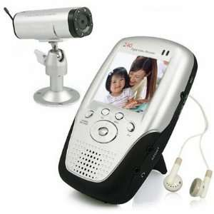 Display Wireless Digtal Color LCD Baby Monitor Kit