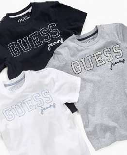 Guess Kids Shirt, Boys Short Sleeved Logo Tee Shirt