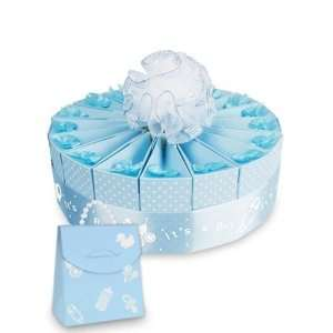 Its a Boy Baby Shower Favor Cake Kit   1 Layer Kit for