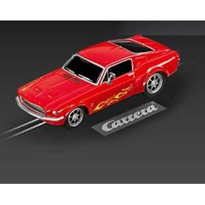 Carrera Go Red Ford Mustang 67 Custom Toys & Games
