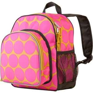 Wildkin Big Dots Hot Pink Packn Snack Backpack Bags
